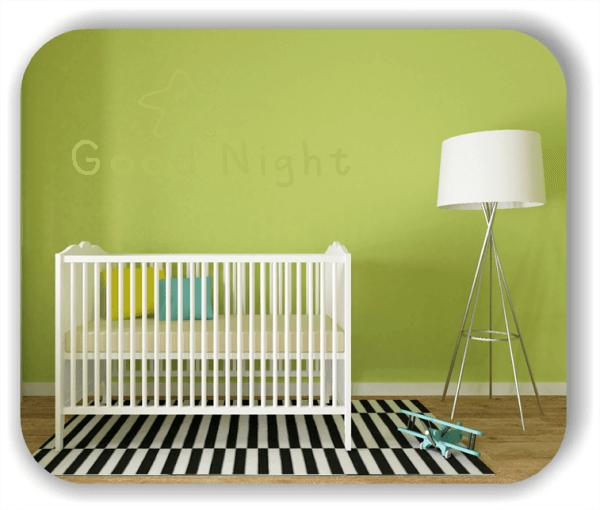 Wandtattoos Schlafzimmer - Good Night