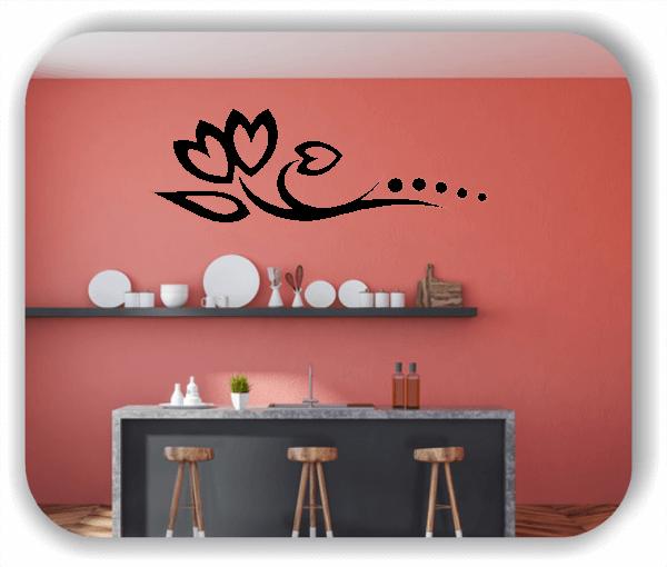 Wandtattoos Blätter & Blumen - Motiv 03