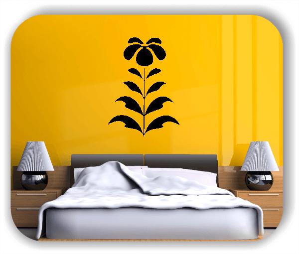 Schnittblumen Wandtattoos - ab 37x50 cm - Motiv 9042