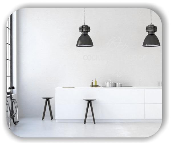 Wandtattoos Spruch Küche - Cocktail Lounge