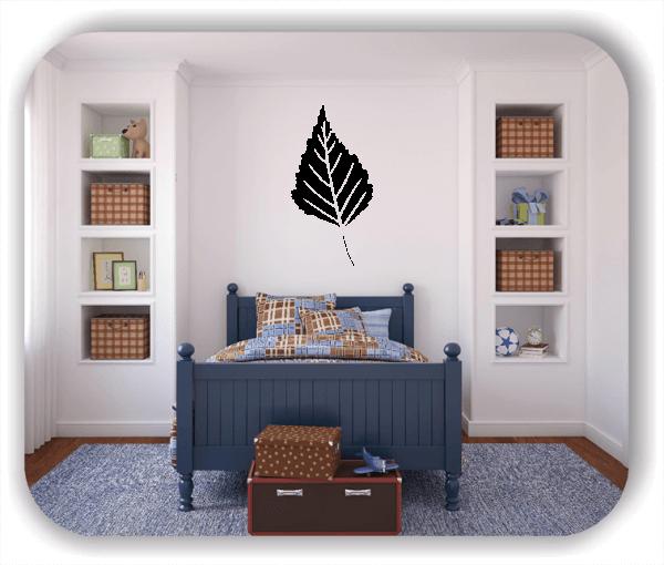 Wandtattoos Blätter - ab 50x97,5cm - Motiv 8230