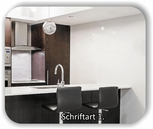 Wandtattoos Küche - Sterne Küche