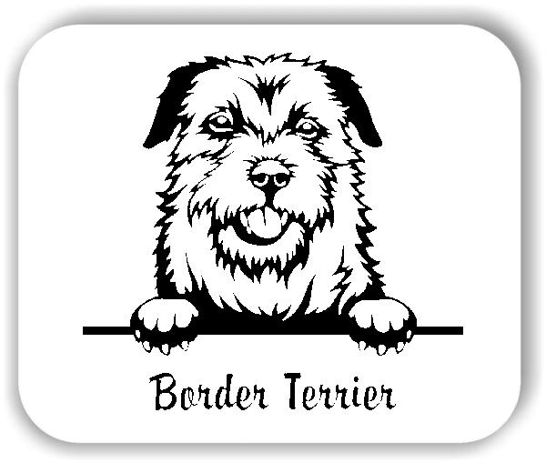 Wandtattoos Tiere - Hunde - Border Terrier