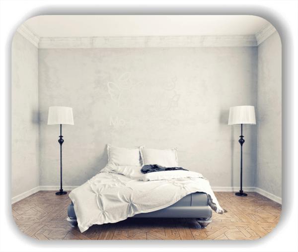 Wandtattoos Schlafzimmer - Engelchen & Teufelchen - Wochentage