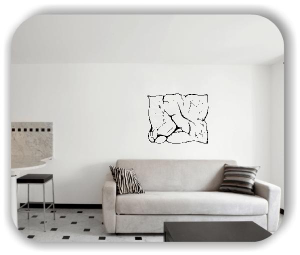 Wandtattoos Ornamente Natur - ab 60 x 49 cm - Motiv 40
