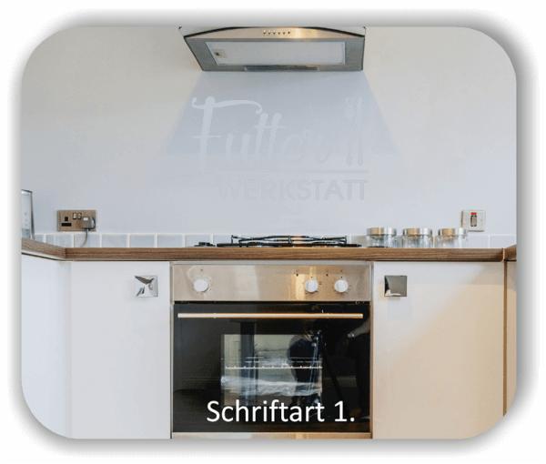 Wandtattoos Spruch - Futter Werkstatt