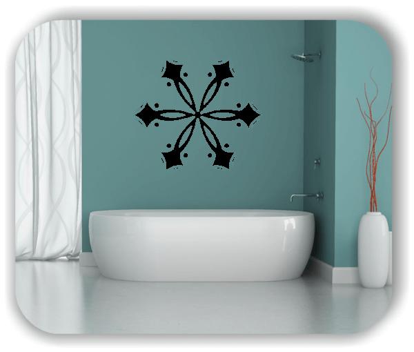 Snowflakes Wandtattoos - Schneeflocke - ab 50x43 cm - Motiv 2575