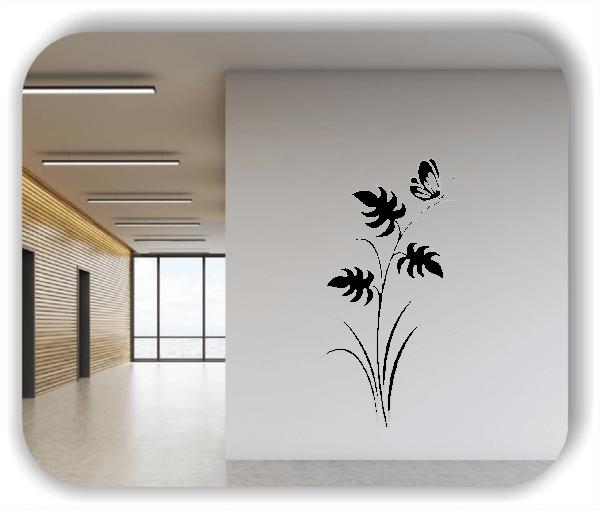 Florale Wandtattoos Japan Motiv - ab 33x60 cm - Motiv 3242