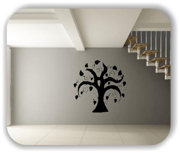 Wandtattoos Baum - ab 50x55cm - Motiv 8226