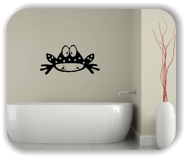 Wandtattoos Tiere - Frosch mit Blick nach unten