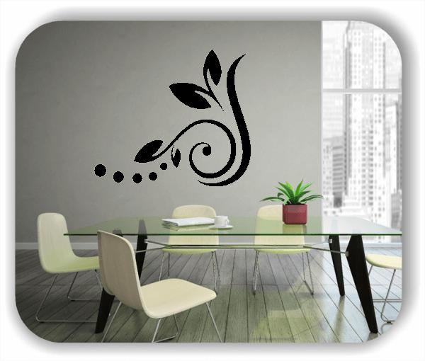 Wandtattoos Blätter & Blumen - Motiv 28