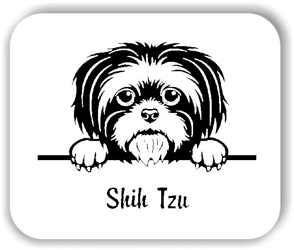 Wandtattoos Tiere - Hunde - Shih Tzu