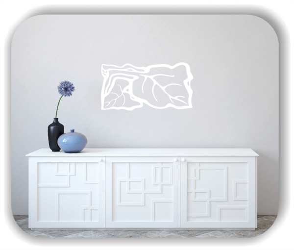 Wandtattoos Ornamente Natur - ab 50 x 25 cm - Motiv 94