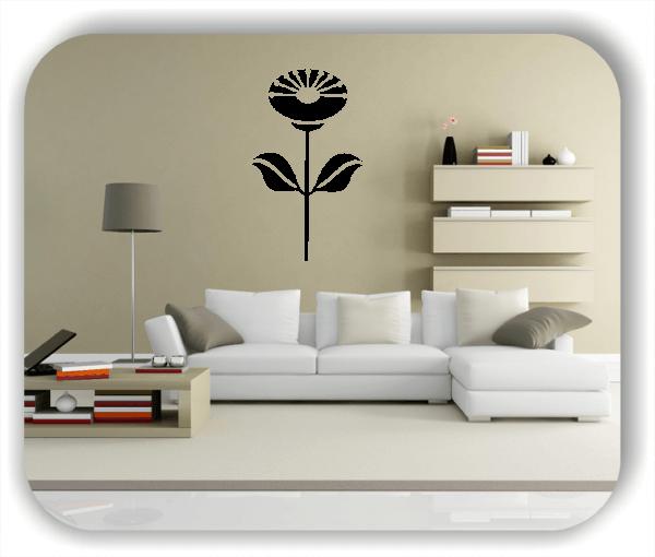 Schnittblumen Wandtattoos - ab 32x50 cm - Motiv 9036