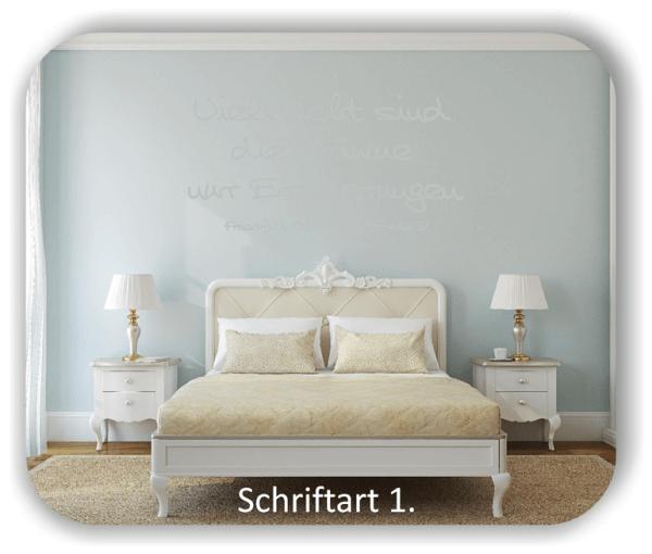 Wandtattoos - Sprüche & Zitate - Vielleicht sind die Träume...