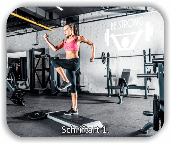 Wandtattoos Spruch - BE STRONG