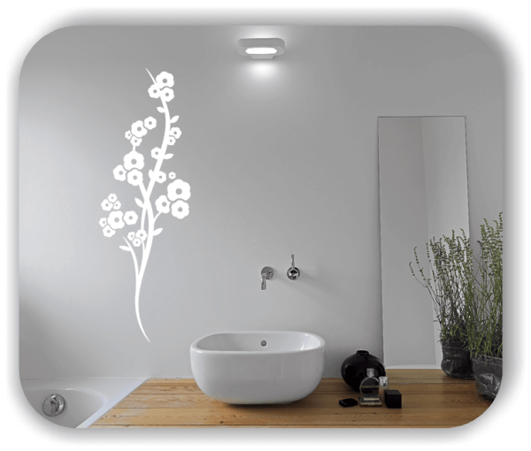 Ornamente China Floral - Wandtattoo - ab 50x150 cm - Motiv 3196