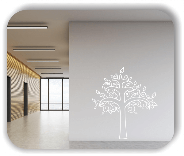 Wandtattoos Baum - ab 50x55cm - Motiv 8250