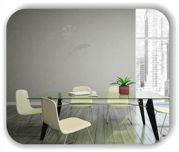 Schnittblumen Wandtattoos - ab 32x50 cm - Motiv 9040