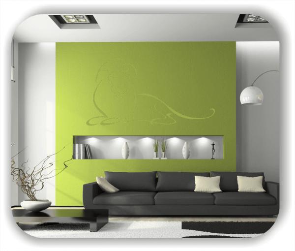 Wandtattoos Tiere - ab 50x25 cm - Löwe