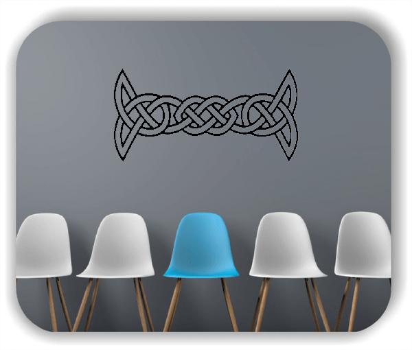 Wandtattoos Keltischer Knoten - Geltic Design - Motiv 30
