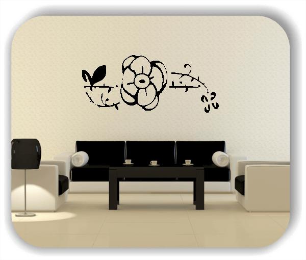 Wandtattoos Pflanzen - ab 50x21 cm - Motiv 3001