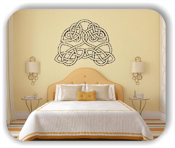 Wandtattoos Keltischer Knoten - Geltic Design - Motiv 48