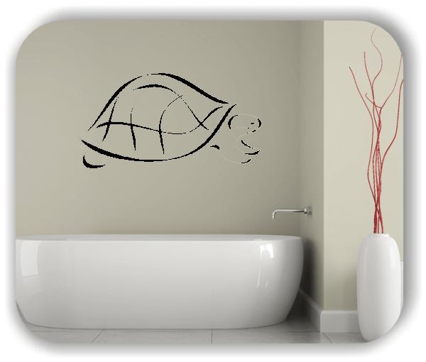 Wandtattoos Tiere - ab 50x25 cm - Schildkröte