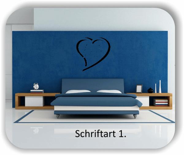 Wandtattoos – Sprüche & Zitate – Live well, Laugh often, Love much