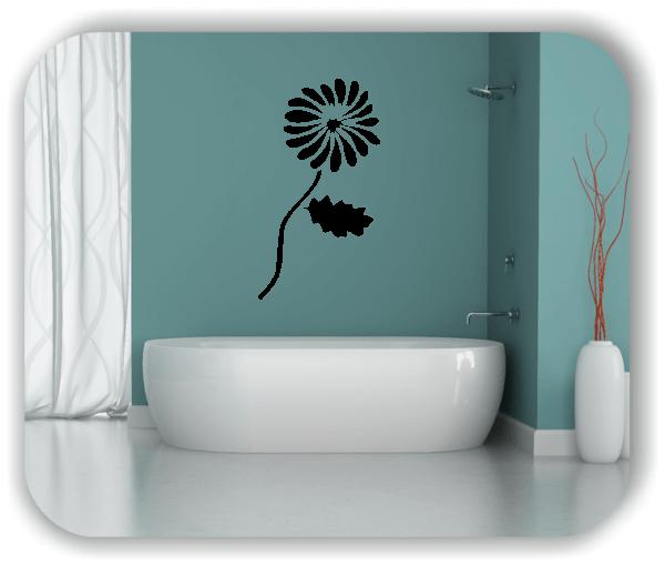 Schnittblumen Wandtattoos - ab 28x50 cm - Motiv 9031