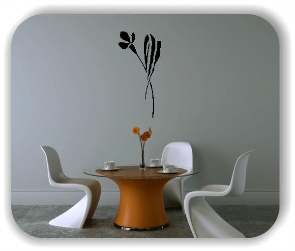Schnittblumen Wandtattoos - ab 25x50 cm - Motiv 9017