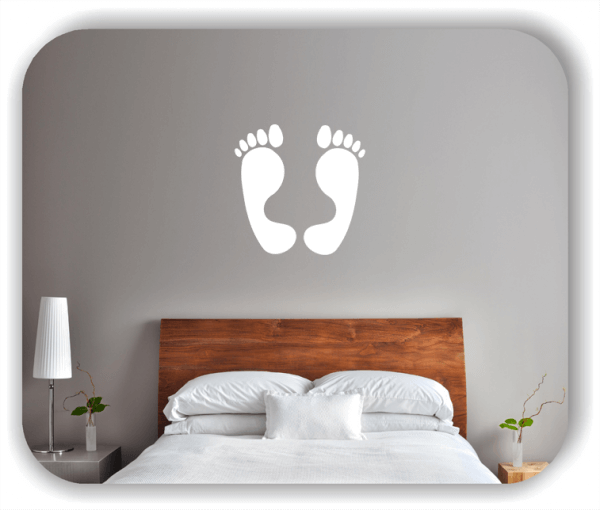 Wandtattoos Spruch Küche - Große Füße