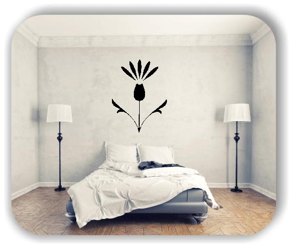 Schnittblumen Wandtattoos - ab 37x50 cm - Motiv 9043