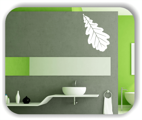 Wandtattoos Blätter - ab 50x70cm - Motiv 8245