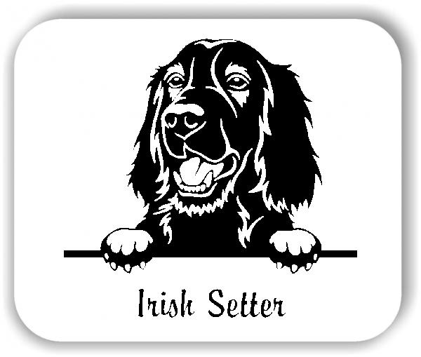 Wandtattoos Tiere - Hunde - Irish Setter