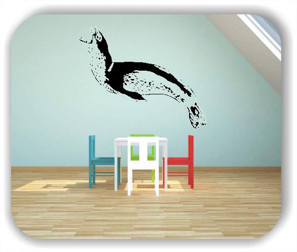 Wandtattoos Tiere - ab 50x40 cm - Seerobbe