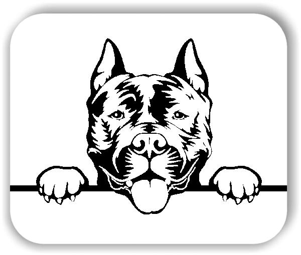 Wandtattoos Tiere - Hunde - American Staffordshire Terrier - ohne Rassename