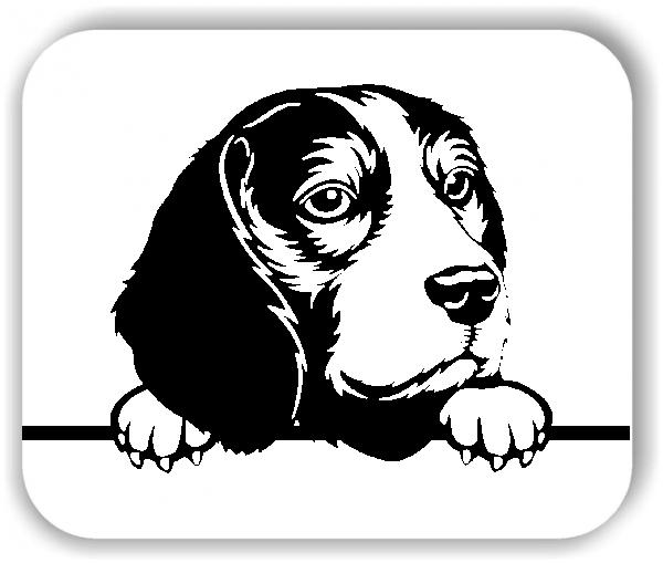 Wandtattoos Tiere - Hunde - Beagle - ohne Rassename