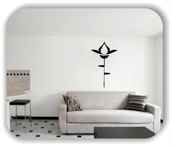 Schnittblumen Wandtattoos - ab 30x50 cm - Motiv 9032