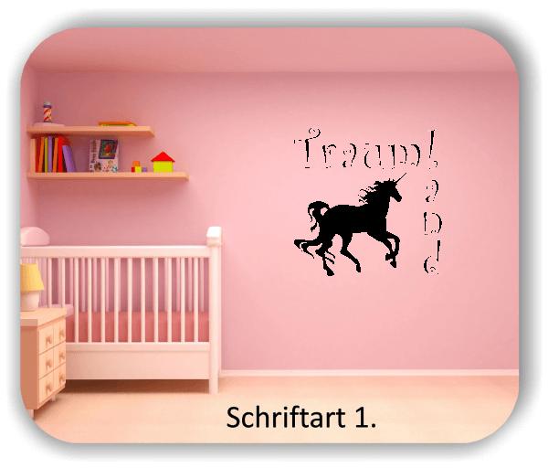 Wandtattoos – Sprüche & Zitate – Traumland