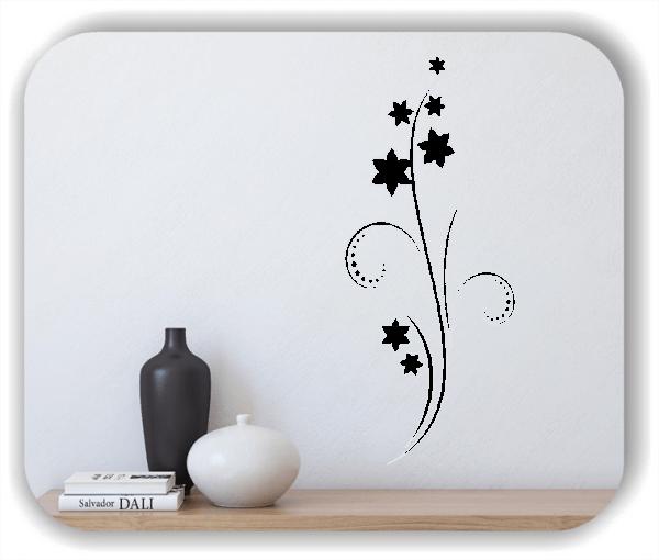 Florale Wandtattoos Japan Motiv - ab 25x60 cm - Motiv 3256