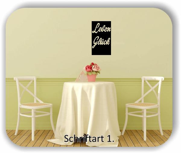 Wandtattoos - Sprüche & Zitate - Wer die kleinen Dinge im Leben...