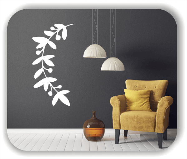 Wandtattoos Blätter - ab 50x97,5cm - Motiv 8234