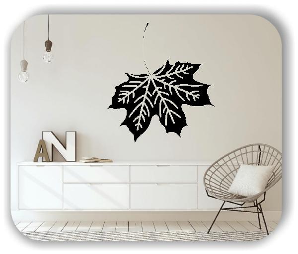 Wandtattoos Blätter - ab 50x55cm - Motiv 8258