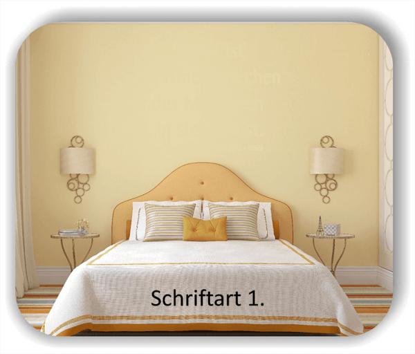 Wandtattoos - Sprüche & Zitate - Schlaf ist ein Hineinkriechen...