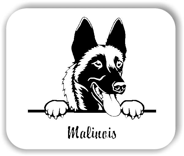 Wandtattoos Tiere - Hunde - Malinois Variante 2