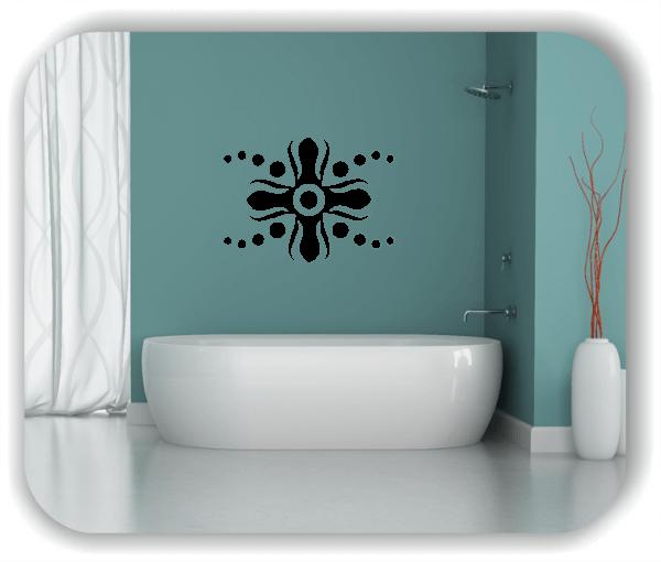 Wandtattoos Dingbats Floral - ab 70x50 cm - Motiv 4119