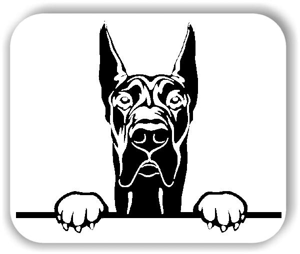 Wandtattoos Tiere - Hunde - Deutsche Dogge - ohne Rassename