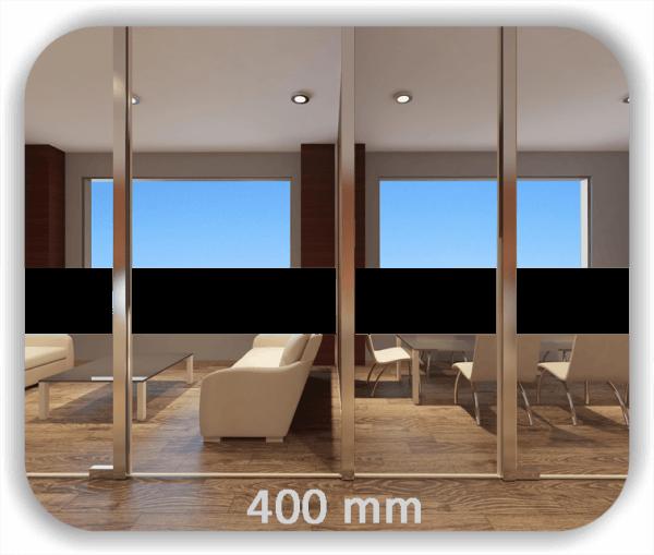 Durchlaufschutz Folie Uni – Streifen - Höhe: 40 cm