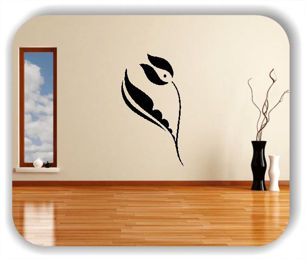 Schnittblumen Wandtattoos - ab 28x50 cm - Motiv 9028